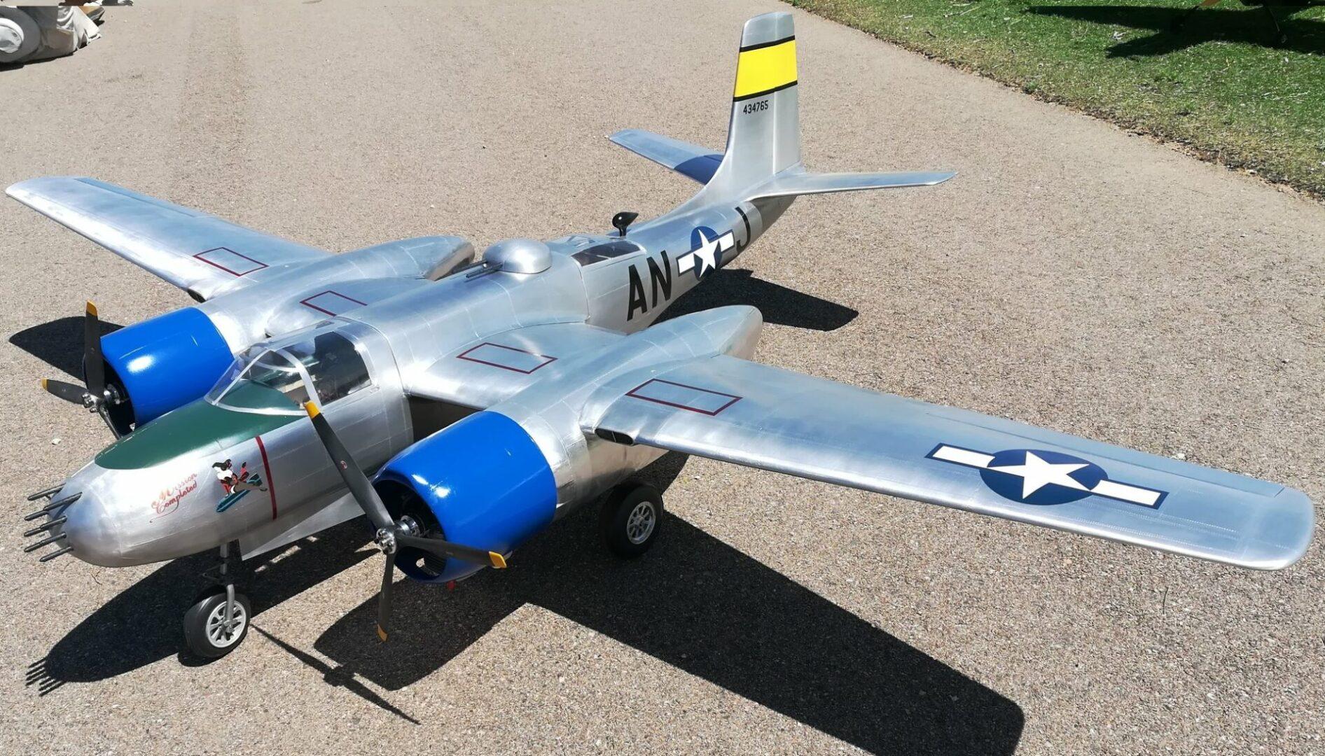 Don Smith A-26